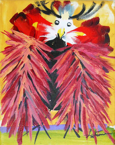 Exotic Guinea Painting by Madison Latimer