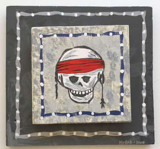 HEAVY SKULL w/ RED SCARF - Day-ted 2006