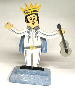 """Heavy ELVIS - Stand-up - 15"""" tall"""