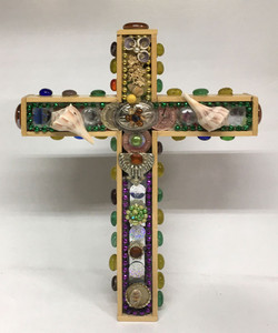COLORFUL CROSS w/ shells - Dated 2006