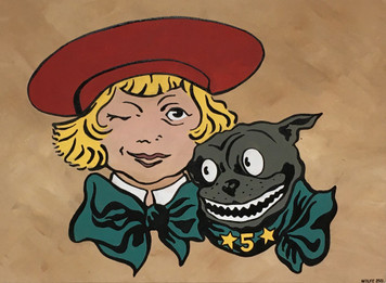 BUSTER BROWN & DOG TIGE by Heidi Wolfe