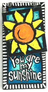 """""""SUNSHINE"""" - 3-D - Wall Hanger by LeAnne Smith"""