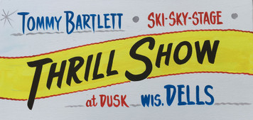 TOMMY BARTLETT WATER SKI SHOW - SIGN