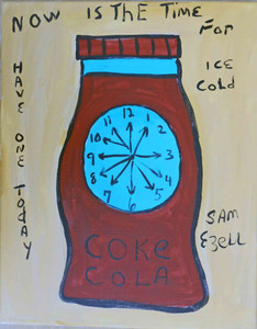 Coke Cola Bottle by Sam Ezell - WAS $75 - NOW $60