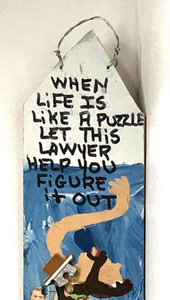 WHEN LIFE's A PUZZLE-CALL A LAWYER  -C- MARY PROCTOR