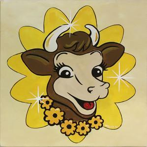 ELSIE - BORDEN'S JERSEY COW - by Heidi Wolfe
