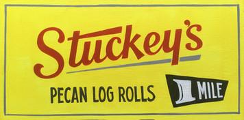 "STUCKEYS ROADSIDE SIGN - 12"" x 24"""