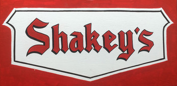 SHAKEY'S PIZZA PARLOR SIGN - Remember them?