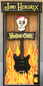 JIMI HENDRIX GUITAR - VOODOO CHILD SHADOW BOX