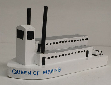 QUEEN OF MEMPHIS TN RIVERBOAT by Eddie Armstrong