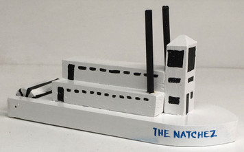 NATCHEZ MS PADDLEWHEEL STEAMBOAT by Eddie Armstrong