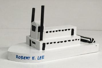 ROBERT E LEE PADDLEWHEEL STEAMBOAT by Eddie Armstrong