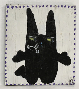 BLACK CAT CHARACTER by Billy FRED Hellams