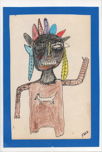 Native American CHARACTER by Billy FRED Hellams