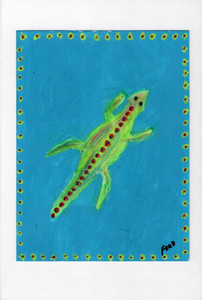 GEICO - 6x8 Paper by Billy FRED Hellams