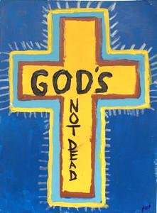 CROSS - GOD'S NOT DEAD - by Billy Fred Hellams