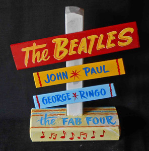 Beatles Signpost by George Borum
