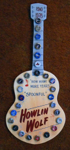 Howling Wolf Bottle Cap Guitar - WAS $40 - NOW $ 30