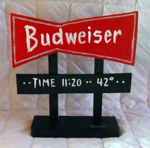 Budweiser Landmark Highway Sign by  Otto - WAS $25 - NOW $ 10