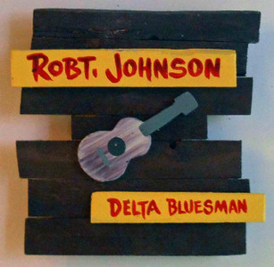 Robt Johnson Wall Plaque by George Borum RJ2114