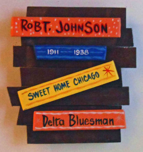 Robt Johnson Wall Plaque by George Borum