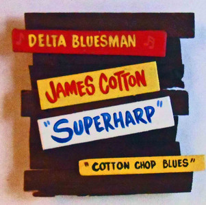 James Cotton Wall Plaque by George Borum