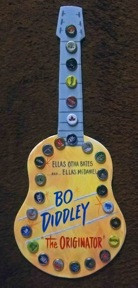 Bo Diddley Bottle Cap Guitar - WAS $40 - NOW $25