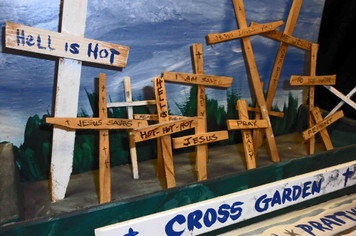 Tribute to W C Rice - Cross Garden Prattville,  Alabama by George Borum