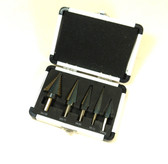 5 Piece Step Drill Set METRIC