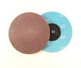 "3"" x 180 Grit Roloc Sanding Disc A/O"