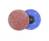 "3"" x 24 Grit Roloc Sanding Disc A/O"