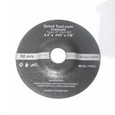 "4.5"" x 1/4"" x 7/8"" Grinding Disc T27"