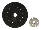 "5"" x 5/8""-11 Rubber Turbo Resin Fiber Disc Backing Pad"