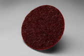 "5"" x Medium (maroon) Surface Prep Disc Hook & Loop"