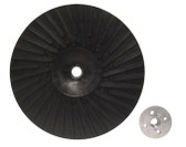 "9"" x 5/8""-11 Rubber Turbo Resin Fiber Disc Backing Pad"