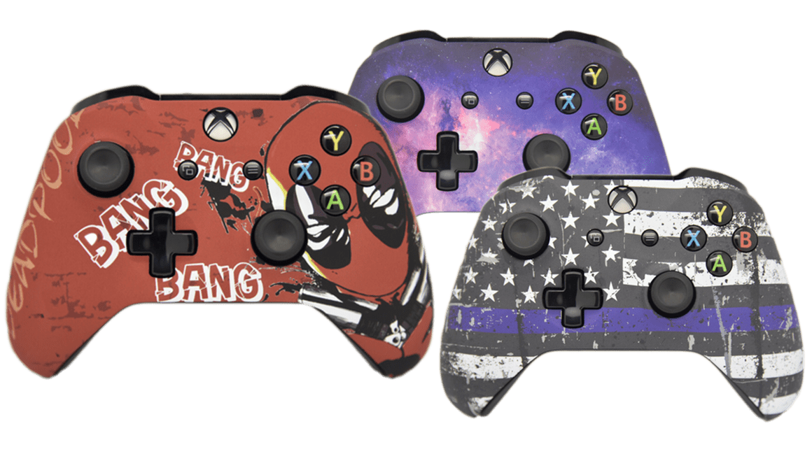 Custom Controllers - Custom Xbox and Playstation Controllers
