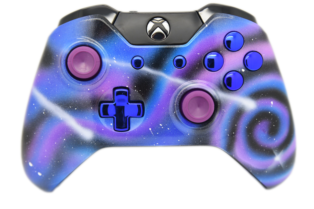 Galaxy Themed Xbox One Controller