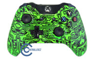Green Circuit Board Xbox One Controller |  Xbox One
