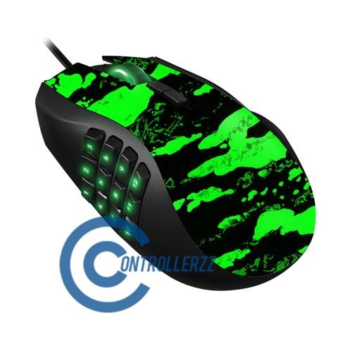 Green Splatter Razer Naga   Razer Naga