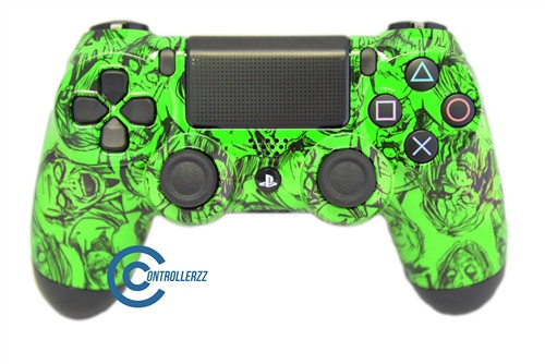 Green  Zombie PS4 Controller | Ps4