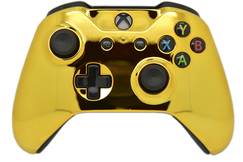Gold Chrome Xbox One S Controller | Xbox One