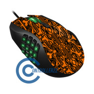 Orange Circuit Razer Naga | Razer Naga