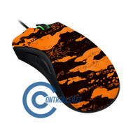 Orange Splatter Razer DeathAdder |  Razer DeathAdder