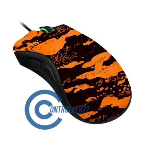 Orange Splatter Razer DeathAdder |  Razer DeathAdder