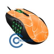 Orange Swirl Razer Naga | Razer Naga