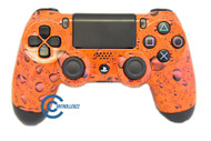 Orange Water Drop PS4 Controller | Ps4