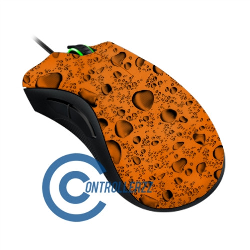 Orange Water Dropped Razer DeathAdder | Razer DeathAdder