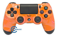 Orange Swirl PS4 Controller | Ps4