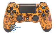 Orange Zombie PS4 Controller | Ps4