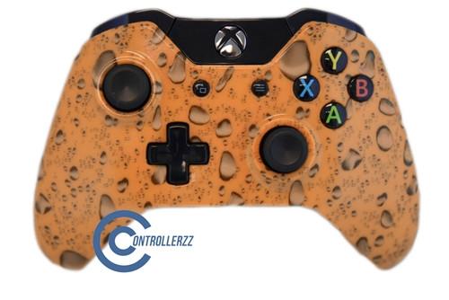 Orange Waterdrop Xbox One Controller   Xbox One
